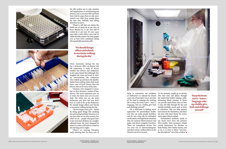 Center for Applied Molecular Medicine / Pictet Report