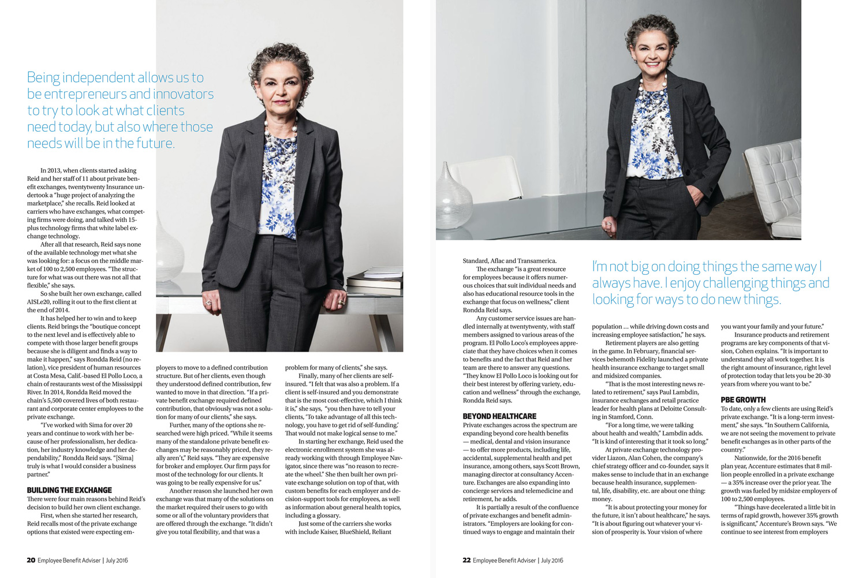 Sima Reid, president at twentytwenty Insurance Services / Employee Benefit Advisor | SourceMedia