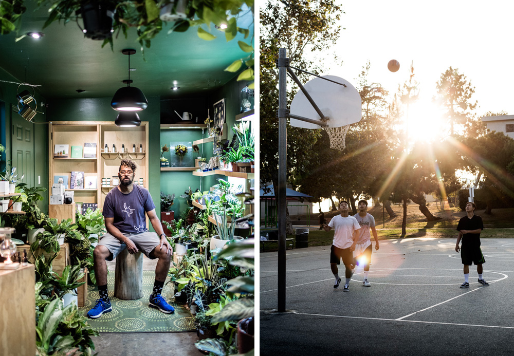 Hank Jenkins, The Plant Provocateur | Bellvue Park / Around the corner - Silver Lake / Blau