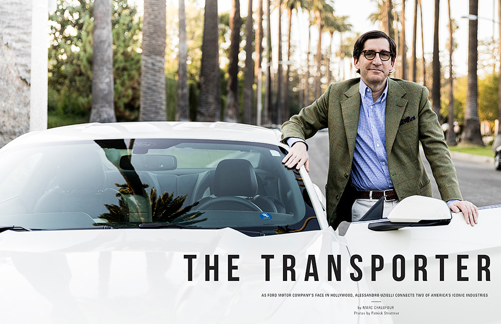 Alessandro Uzielli, head of Ford Motor Co.'s Global Brand and Entertainment division / COM/365