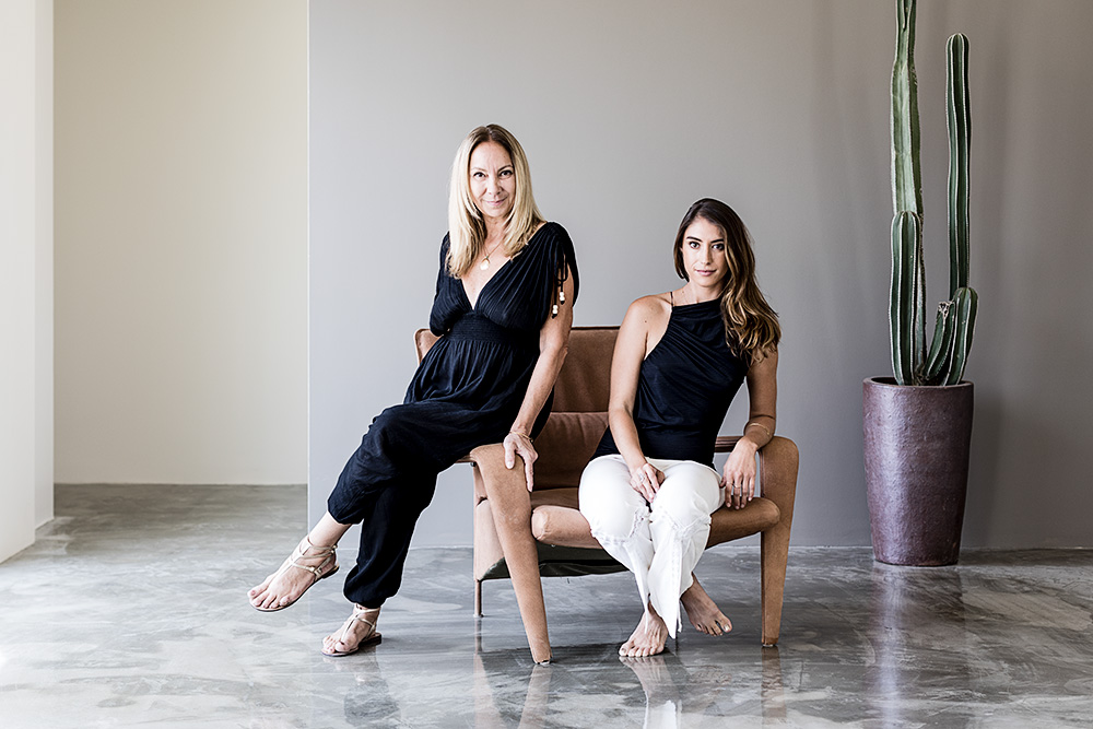 Marina Rossi and her daughter Avalon Rossi / WSJ