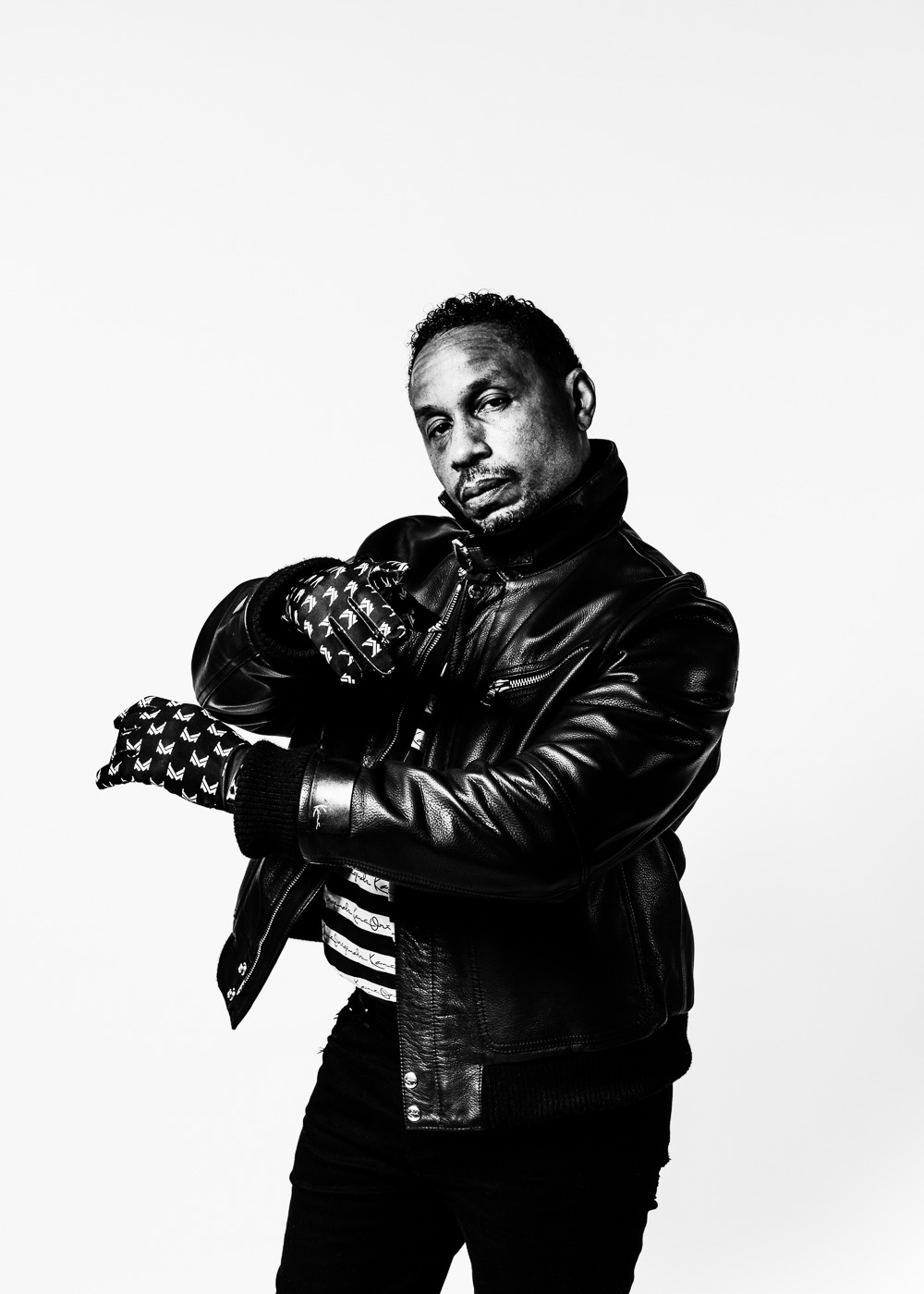 Karl Kani, American fashion designer, founder and CEO of the hip hop fashion brand Karl Kani.